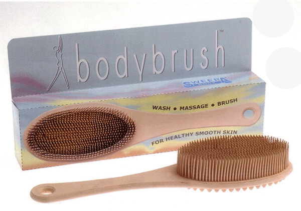 Body Brush Sweepa mit Stiel